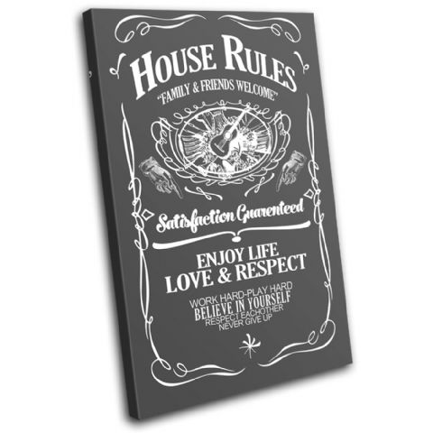 House Rules Swirls Typography - 13-6065(00B)-SG32-PO